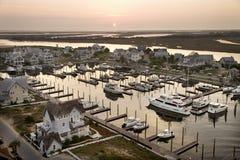 Boote am Jachthafen. lizenzfreie stockfotos
