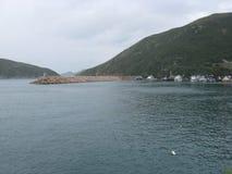 Boote am Jachthafen an PO Chong Wan, Aberdeen, Hong Kong stockfotografie