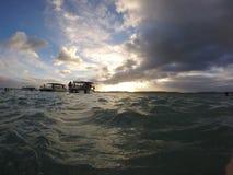 Boote in Maragogi Lizenzfreies Stockfoto