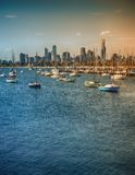 Boote in Melbourne Lizenzfreies Stockfoto