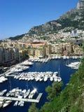Boote in Monte Carlo Stockfotografie