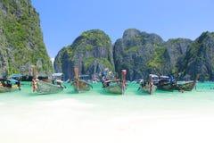 Boote in Phuket Stockfoto