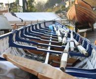 Boote, Richmond, Großbritannien Lizenzfreie Stockbilder