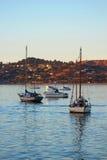 Boote in Sausalito, CA Lizenzfreies Stockfoto