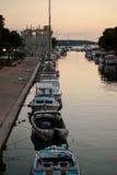 Boote in Trogir Lizenzfreies Stockbild