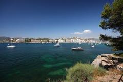 Boote und Meer lizenzfreie stockfotos