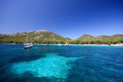 Boote und Meer Lizenzfreie Stockbilder
