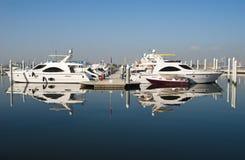 Boote und yatchs Stockfoto