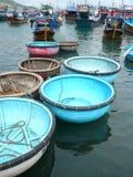 Boote in Vietnam Stockbild