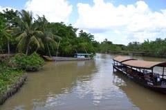 Boote in Vietnam Stockfoto