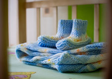Bootees for baby Royalty Free Stock Photos