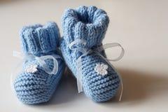 Bootees del bebé Foto de archivo libre de regalías