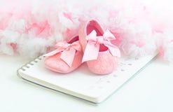 Bootees del bebé Fotografía de archivo libre de regalías
