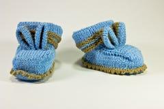 Bootees do bebê Fotos de Stock