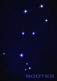 Bootes star constellation Royalty Free Stock Photography