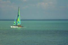 Bootfahrt auf Michigansee Stockfotografie
