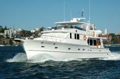 Bootfahrt in Australien Stockbilder