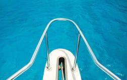 Bootfahrt im Caribes Stockbilder