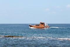 Bootfahrt im Libanon Stockbild