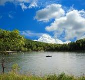 Bootfahrt in Kentucky lizenzfreies stockbild