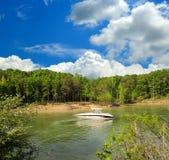 Bootfahrt in Kentucky stockfoto