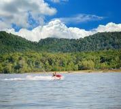Bootfahrt in Kentucky stockfotos