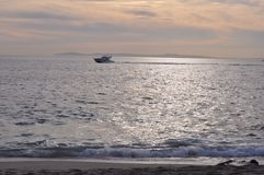 Bootfahrt in Süd-Kalifornien Lizenzfreie Stockbilder