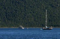 Bootfahrtabenteuer stockbilder
