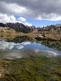 Booth湖 免版税图库摄影