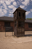 Booth from the Auschwitz Concentration Camp. Stock Photography