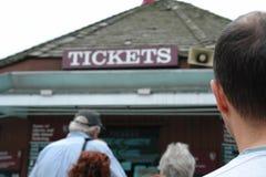 booth bilety sprzedawca Zdjęcie Royalty Free