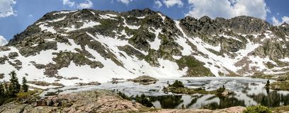 Booth lake in Colorado Royalty Free Stock Image