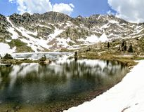 Booth lake in Colorado Royalty Free Stock Photography