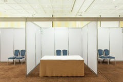 Booth with lighting Royalty Free Stock Photo