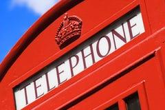 booth London telefon Zdjęcie Stock