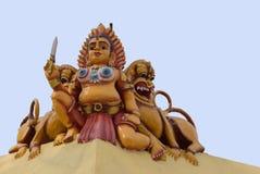 Bootha Gana на виске Mariamman в Kothamargalam Стоковое Фото
