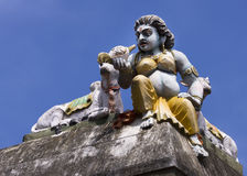 Bootha Gana on temple wall. Royalty Free Stock Photography