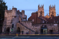 Bootham Bar and York Minster Stock Photography