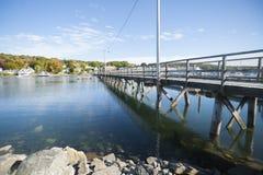 Boothbay,缅因,美国 免版税库存图片