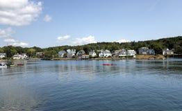 Boothbay hamn, Maine Royaltyfri Bild