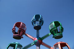 Booths children carousel Royalty Free Stock Photo