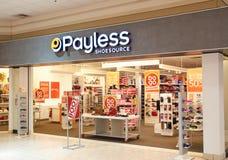 Bootique di Payless ShoeSource fotografia stock libera da diritti