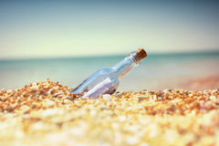Bootle στην παραλία Στοκ φωτογραφία με δικαίωμα ελεύθερης χρήσης