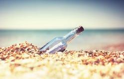 Bootle на пляже Стоковое Изображение