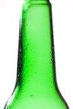 bootle падает зеленая вода съемки макроса Стоковое Изображение RF