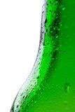 bootle падает зеленая вода съемки макроса Стоковая Фотография RF