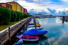 Bootpost in Venetië Royalty-vrije Stock Foto