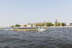 Bootreis op de Chao Phraya-rivier Stock Afbeelding