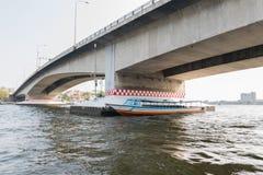 Bootreis op de Chao Phraya-rivier Stock Fotografie