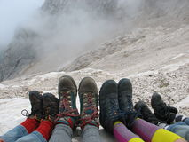 boots гора Стоковые Изображения